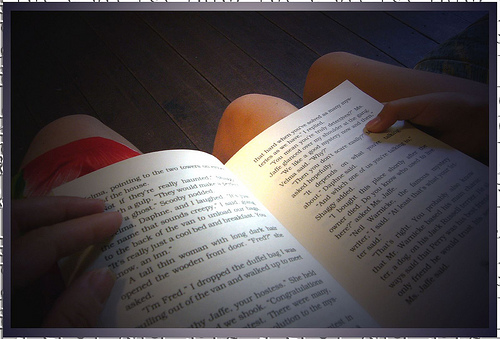 Любовь – это почитать вслух друг другу перед сном