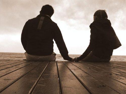 Любовь - это когда влюбленные смотрят не друг на друга, а вместе, в одном направлении